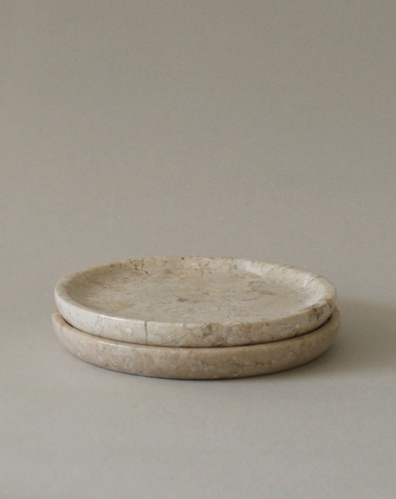 Crema Marble Plate